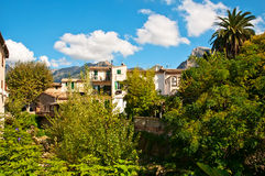 Mediterranean village Royalty Free Stock Image