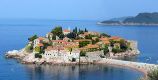 Mediterranean village Royalty Free Stock Images