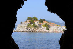 Mediterranean village Stock Photo