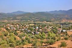 Mediterranean village in Bodrum, Turkey Stock Images