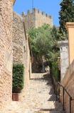 Mediterranean village of Capdepera Stock Images