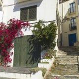 Mediterranean village. Costa Brava, Catalonia Stock Image