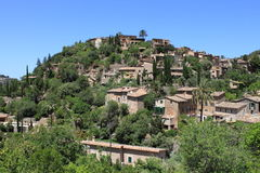 Mediterranean village of Deja Royalty Free Stock Images