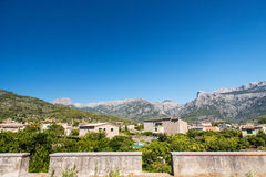 Mediterranean village of Majorca island Stock Images