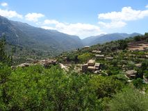 Mediterranean village, Mallorca, Ballears. Mediterranean village in Mallorca, Ballears Stock Photo