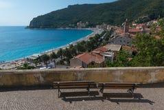 The mediterranean village of Noli Stock Photos