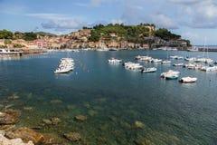 Mediterranean village Stock Photos