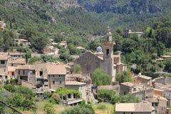 Mediterranean village of Valldemossa Stock Photography