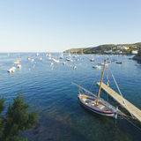 Mediterranean village Royalty Free Stock Photo