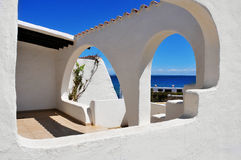 Mediterranean village Royalty Free Stock Image