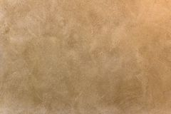Mediterranean wall background. Terracotta brown colored texture Stock Images