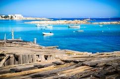 Mediterranean Waterscape Stock Photos