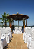 Mediterranean Wedding Stock Photo