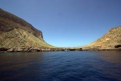Mediterranean wild beach Royalty Free Stock Photography