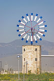 Mediterranean Windmill Royalty Free Stock Image