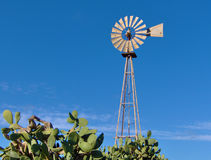 Mediterranean Windmill - Malta Royalty Free Stock Images