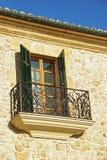 Mediterranean Window Stock Photo