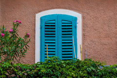 Mediterranean window. Royalty Free Stock Photography