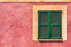 Mediterranean Window Stock Photo