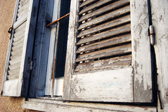Mediterranean Windows. Mediterranean Traditional Windows, at Cyprus Royalty Free Stock Image