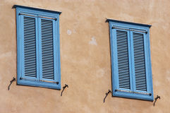 Mediterranean Windows Royalty Free Stock Image