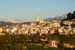 Mediterranean winter scene Royalty Free Stock Image
