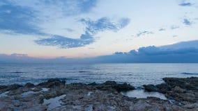 Mediterranenzonsopgang stock videobeelden
