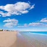 Mediterraneo della spiaggia di Alicante San Juan il bello Fotografia Stock