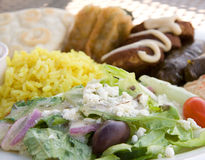 Mediterranian cuisine Royalty Free Stock Images