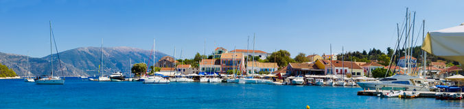 Mediterranian Harbour Royalty Free Stock Photo