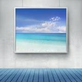 Mediterranian het schilderen Stock Foto's