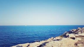 Mediterranian vaggar Royaltyfri Fotografi