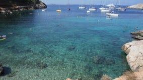 Mediterrean azul brilhante imagens de stock royalty free