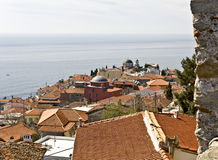 Mediterrenean city of Kavala in Greece Stock Images