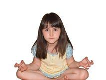 Mediti la ragazza Fotografia Stock