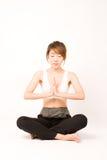 Meditieren Stockbild