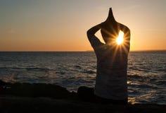 Meditieren Sie Lizenzfreie Stockbilder