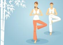 Meditieren Sie Stockbild
