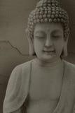 Meditierende Buddha-Statue Lizenzfreie Stockfotografie