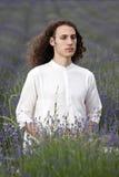Meditierender Yogi Stockbild