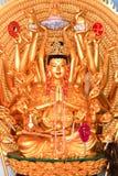 Meditierendes Buddhas Stockbild