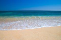 meditteranean na plaży zdjęcie stock