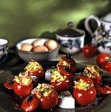 Meditterenean śniadanio-lunch Zdjęcie Royalty Free