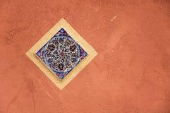 meditterenean vägg Arkivfoton