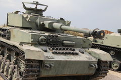 Medium battle tank PANZER(German Stock Image