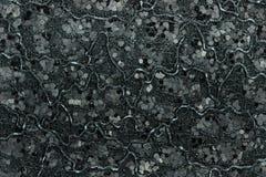 Medium Black/Gray Glitter. Macro photo of medium sized black and gray glitter Royalty Free Stock Photos