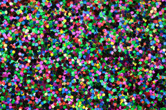 Medium Black/Green/Blue/Pink/Yellow Glitter Royalty Free Stock Photo