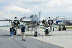 Medium bomber North American B-25J Mitchell. Royalty Free Stock Photos