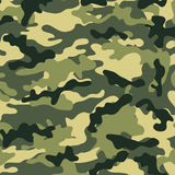 Medium Camouflage. Medium army camouflage pattern with various muted green tones royalty free illustration