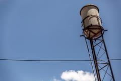 Medium cement deposit located several meters high Stock Image